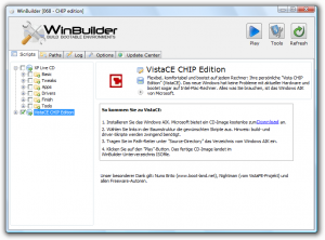 Screenshot Winbuilder