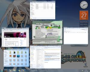 Desktop aufgeräumt mit Switcher